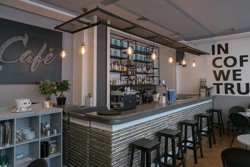 """Καφετέρια """"Le Cafe"""" στα Πατήσια"""
